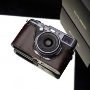 Gariz Leather Half-case for Fuji X100 / X100s / X100T : Brown