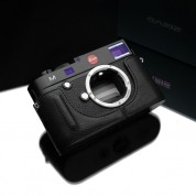 Gariz Leather Half-case for Leica M Black Label : Black