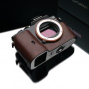 Gariz Leather Half-case for Sony A7 : Brown (XS-CHA7BR)