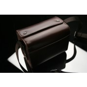 Gariz Leather Zoom Bag Small for Sony NEX : Brown (CB-LZSS)