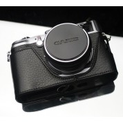 Gariz Lens Cap Cover for Fuji X100,X100S / Leica X1 :  Black