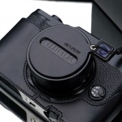 Gariz Lens Cap Cover for Fuji X10,X20 :  Black