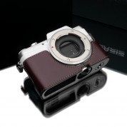Gariz Leather Half-case for Lumix GF7: Brown (XS-CHGF7BR)