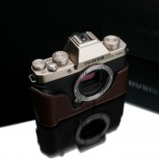 Gariz Leather Half-case for Fuji X-T100 : Brown (XS-CHXT100BR)