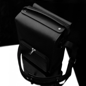 Gariz Black Label Zoom Bag Large : Black