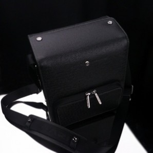 Gariz Black Label Zoom Bag Medium : Black (BL-ZBMBK)
