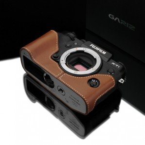 Gariz Leather Half-case for Fuji X-T1 : Camel (XS-CHXT1CM)