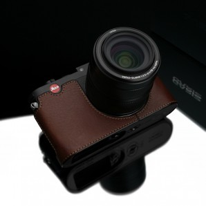 Gariz Leather Half-case for Leica X Vario Black Label: Brown (BL-LCXVBR)