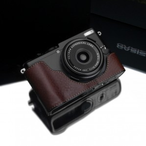 Gariz Leather Half-case for Fuji X70: Brown (XS-CHX70BR)