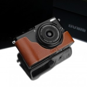 Gariz Leather Half-case for Fuji X70: Camel (XS-CHX70CM)