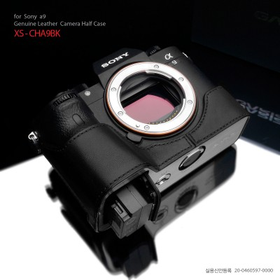 Gariz Half-case for Sony A9 : Black (XS-CHA9BK)