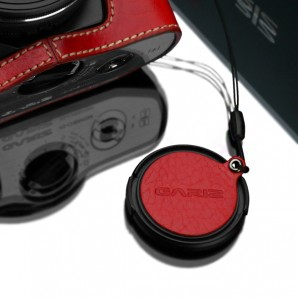 Gariz Lens Cap Cover XA-CFOEBK for Olympus 37,40.5mm
