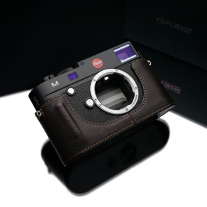 Gariz Leather Half-case for Leica M Black Label : Brown (BL-LCMBR)