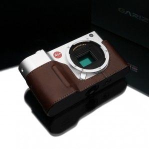Gariz Leather Half-case for Leica T Black Label: Brown (BL-LCTBR)