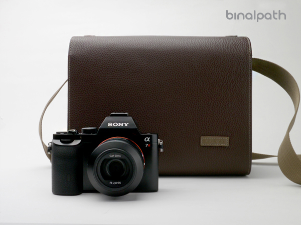 Gariz Binalpath Synthetic Leather Camera Bag : Large