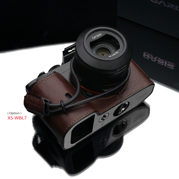 Gariz Leather Half-case for Sony A7  Brown (XS-CHA7BR)
